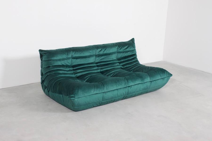 Ligne Roset Togo 3 Seater Sofa By Michel Ducaroy