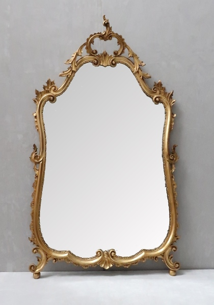 Early 20th Century Italian Gilt Wall Mirror