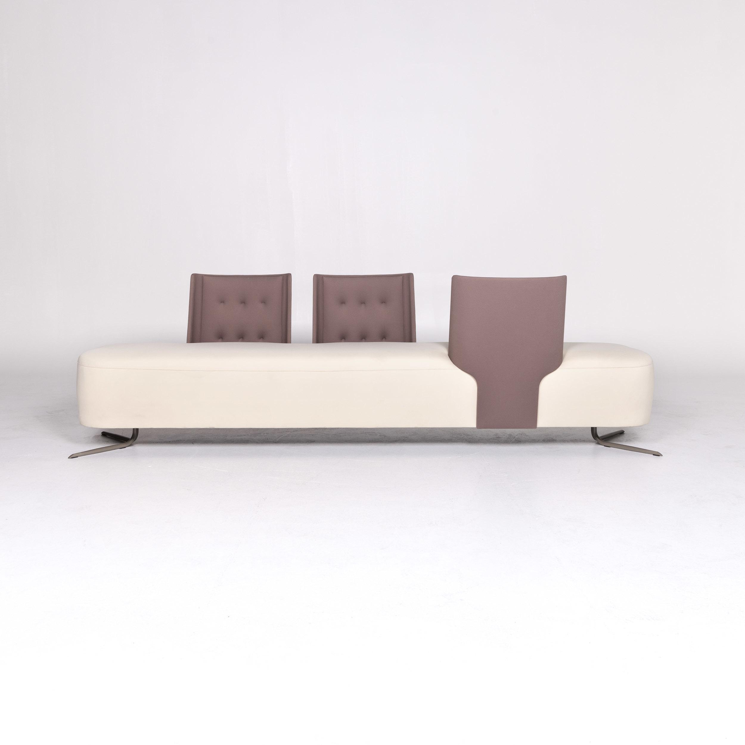 Estel Sofa Seater Couch8734 Pensi Cream Three Designer Fabric Jorge 6yYfb7g
