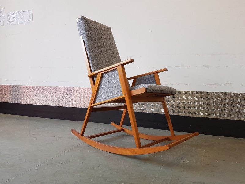 Miraculous Rocking Chair Mid Century Modern Creativecarmelina Interior Chair Design Creativecarmelinacom