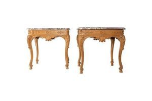 Thumb pair of tables regency style sofa ends 1940s 0