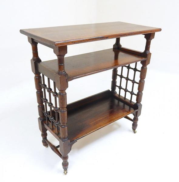 Antique Oak Liberty Bookcase