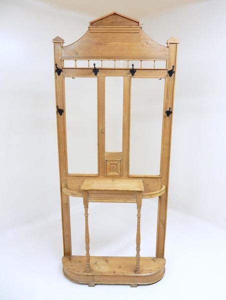 Antique Pine Hall Stand