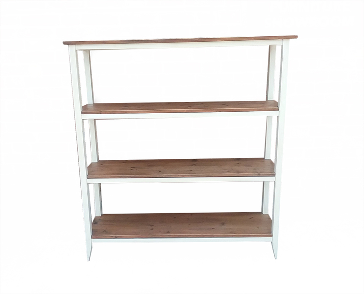 best website 5b511 02954 Painted Reclaimed Timber Shelving Unit