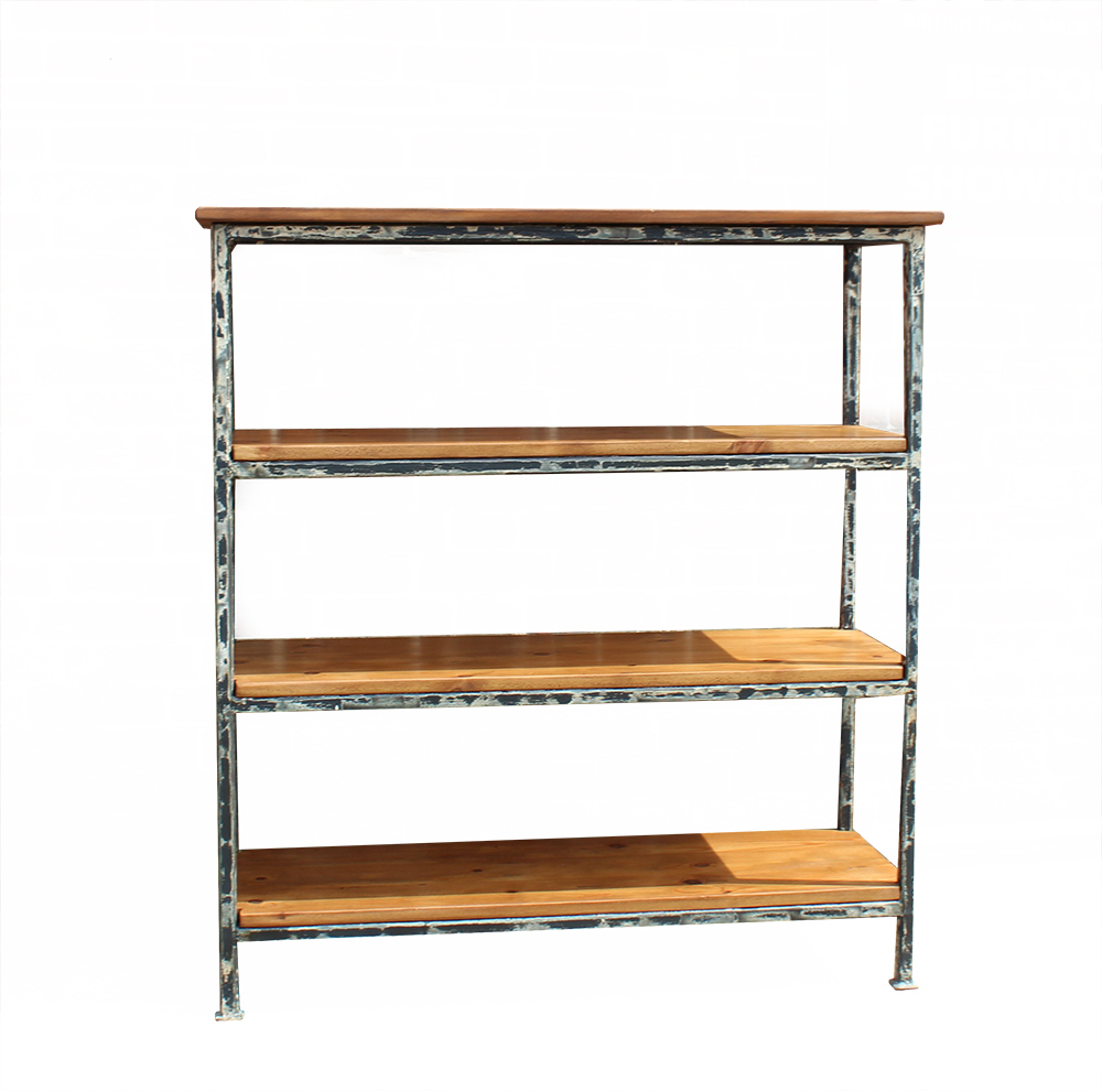 online retailer 80657 eb2fd Industrial Reclaimed Timber Shelving Unit