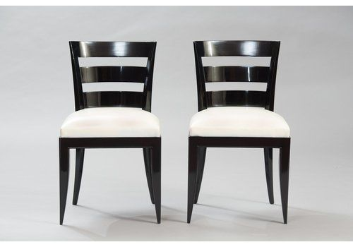 Vintage Art Deco Dining Chairs Set Of 6