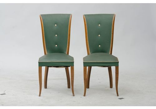 Art Deco Dining Chairs Set Of 6