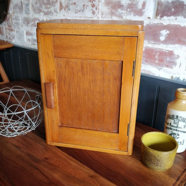 Small Oak Cupboard Photo 1