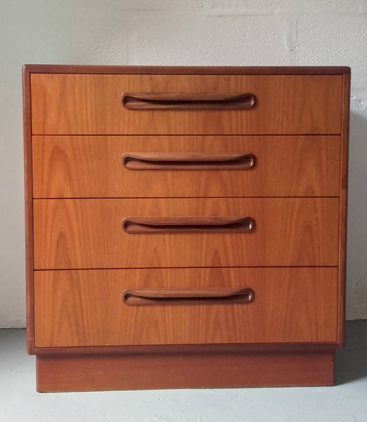 G Plan Fresco Four Drawer Chest Of Drawers