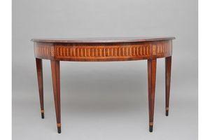 Thumb 18th century italian walnut console table 0
