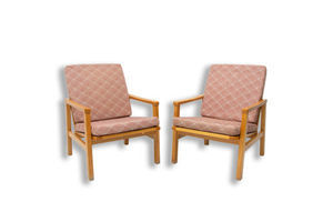 Thumb pair of mid century danish style armchairs for ton 1970 s 0