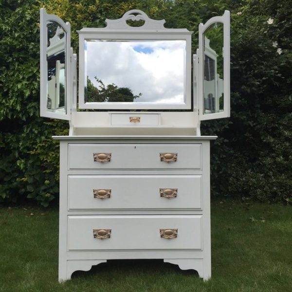 Hand Painted Dressing Chest