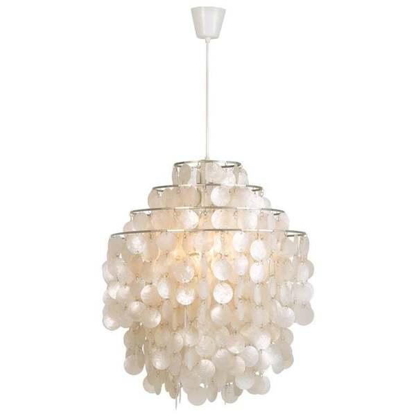 Verner Panton Fun 0 Dm Ceiling Lamp 1960s