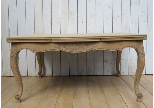 Bleached Oak Extending Draw Leaf Dining Table & Vintage Dining Tables \u0026 Chairs | Mid Century Dining Table | Vintage ...
