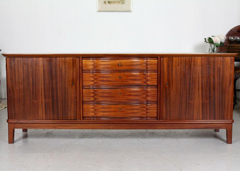 Vintage Danish Credenza : Vintage danish rosewood sideboard credenza mcm s vinterior