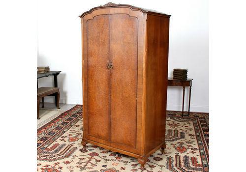Armoires/wardrobes Edwardian (1901-1910) Alert Edwardian Art Nouveau/style Mahogany Single Wardrobe 100% Original