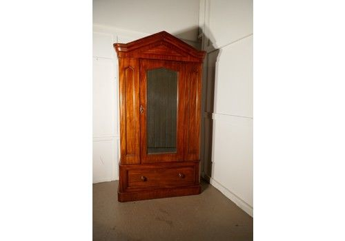 Antique Furniture Edwardian/victorian Wardrobe Beautiful In Colour