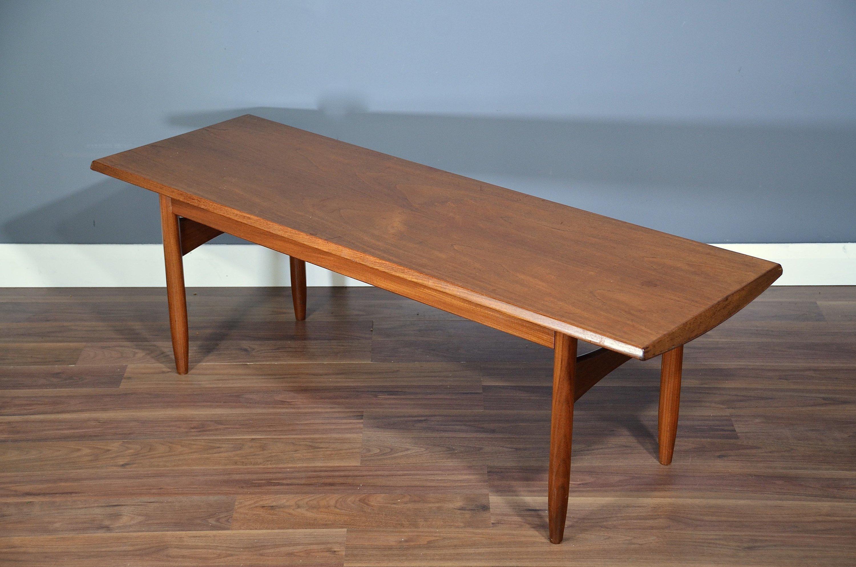 Vintage Midcentury Danish Teak Coffee Table Delivery Modern Retro