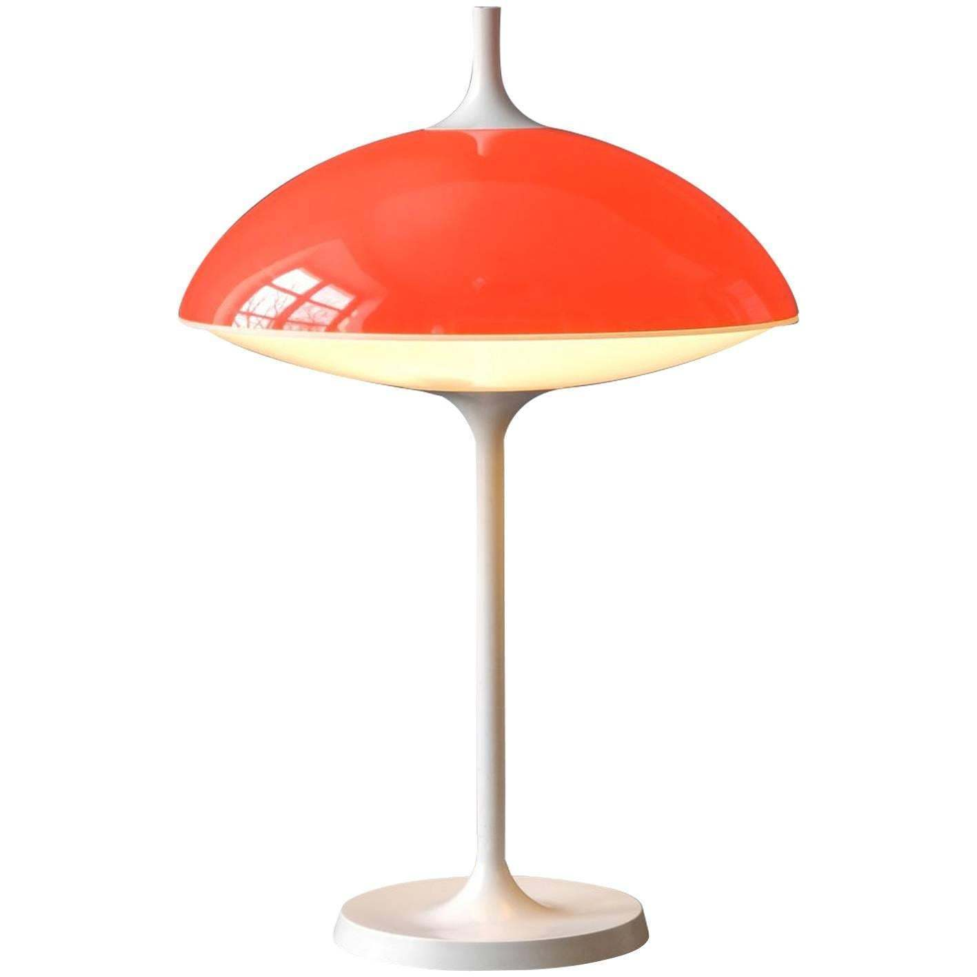 Lamp 1960s By Temde Switzerland Pop Art Age Table Large Space In Made T1cFlKJ