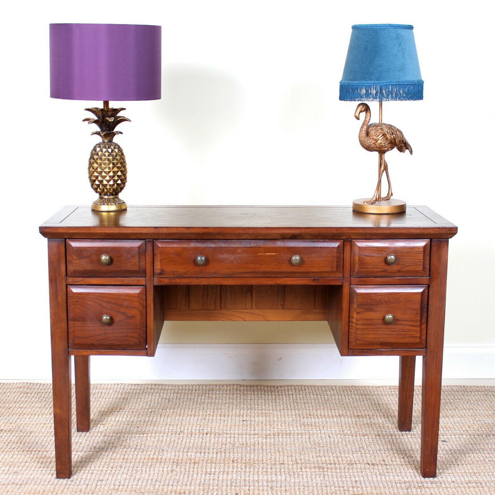 Awe Inspiring Vintage Oak Desk G Plan Writing Table Kneehole Pedestal Desk Download Free Architecture Designs Ferenbritishbridgeorg