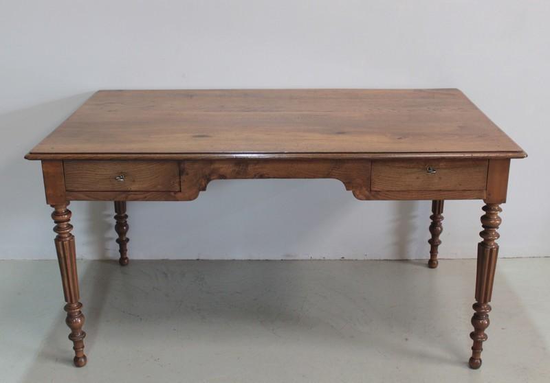 Office Table In Nineteenth Oak