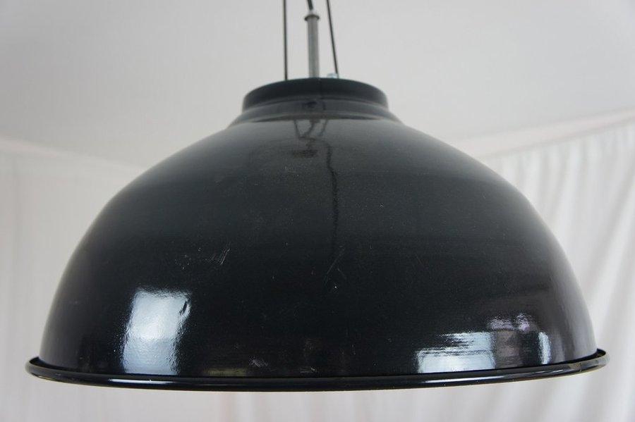 Large Industrial Enamel Light