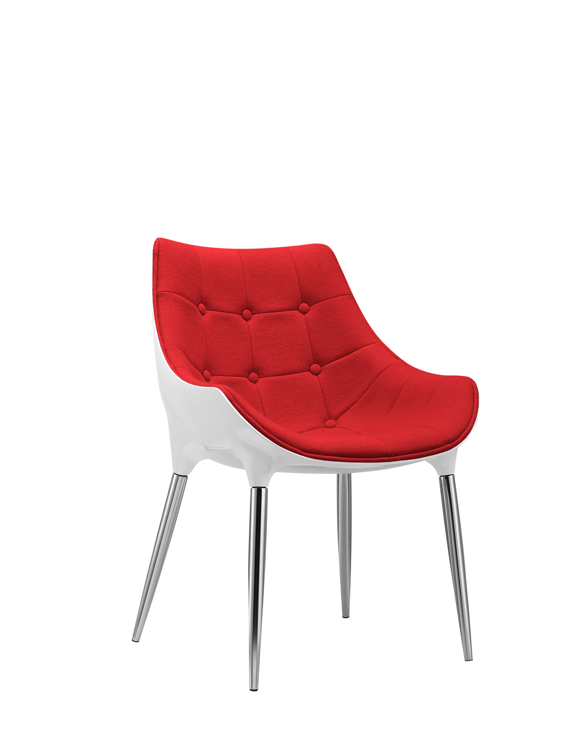 Phenomenal Retro Dining Chair X2 Red Wool White Shell Kitchen Dining Office Chair Free Uk Delivery Pabps2019 Chair Design Images Pabps2019Com