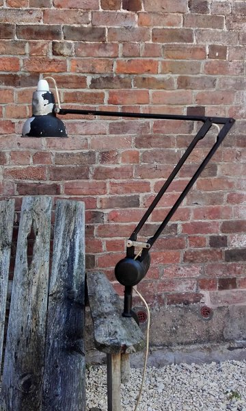 "Admel ""Fingalite"" Counter Weighted Industrial Style Task Lamp"