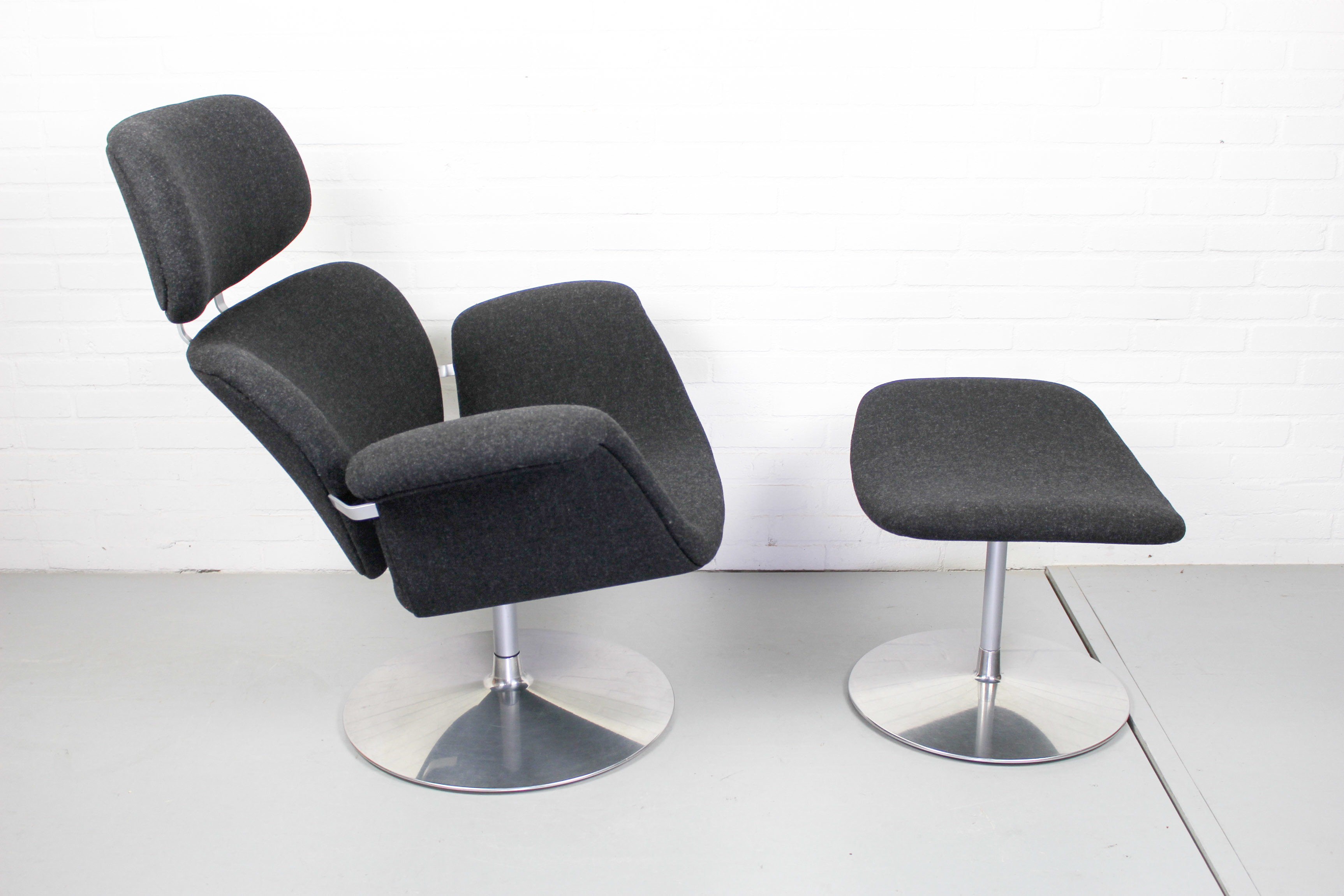 Goede Vintage Design Chair Fauteuil Big Tulip By Pierre Paulin For CW-63