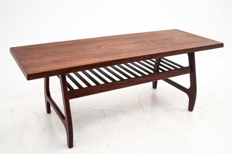 Teak Coffee Table Danish Design Denmark 1960s