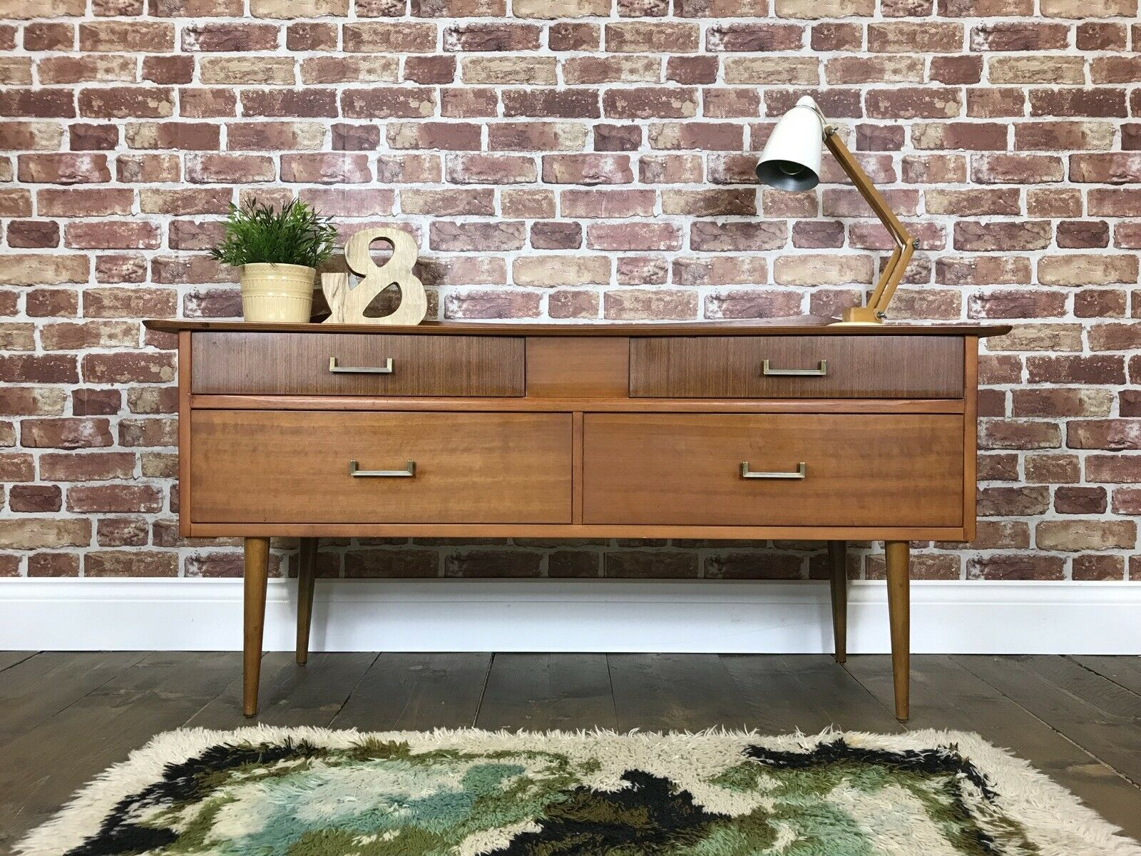 Nice Retro Sideboard Vintage Tv Stand Unit Chest Of Drawers