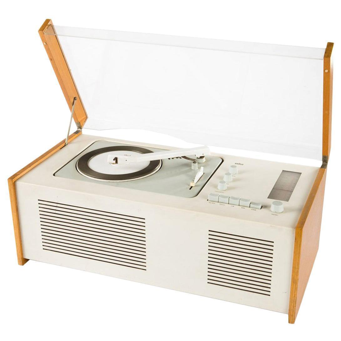 Sk61 Record Player Designed By Dieter Rams For Braun, 1966