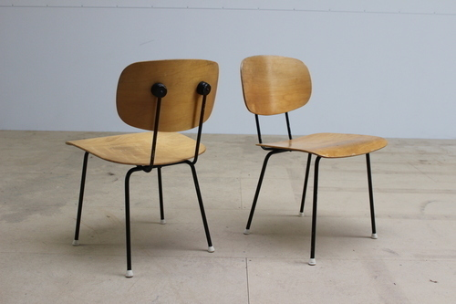 Pair Of Wim Rietveld F116 Chairs photo 1