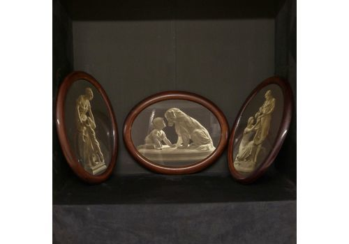 Set Of Three Victorian Classical Prints