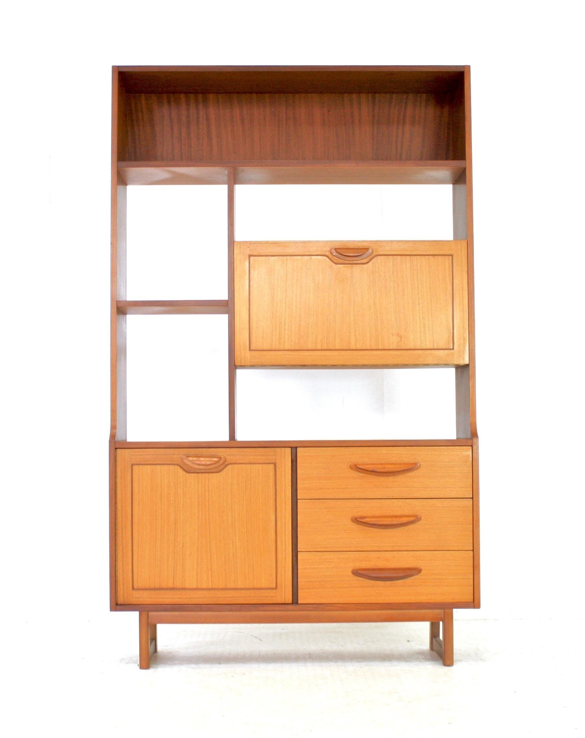 Tremendous Vintage 1970S Danish Influence Teak Stateroom Room Divider Interior Design Ideas Tzicisoteloinfo
