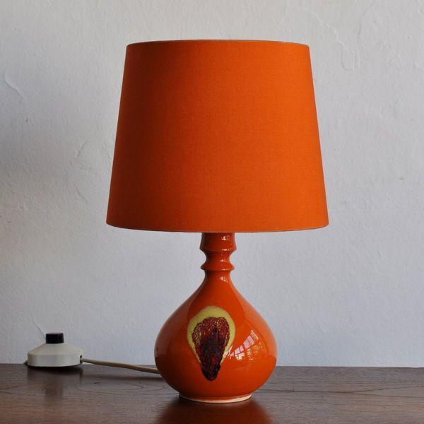 Ceramic Table Lamp By Bjørn Wiinblad For Rosenthal, 1970s