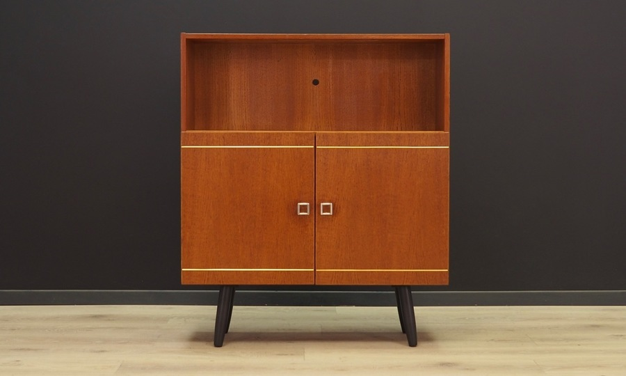 Bookcase Vintage Danish Design Teak Retro