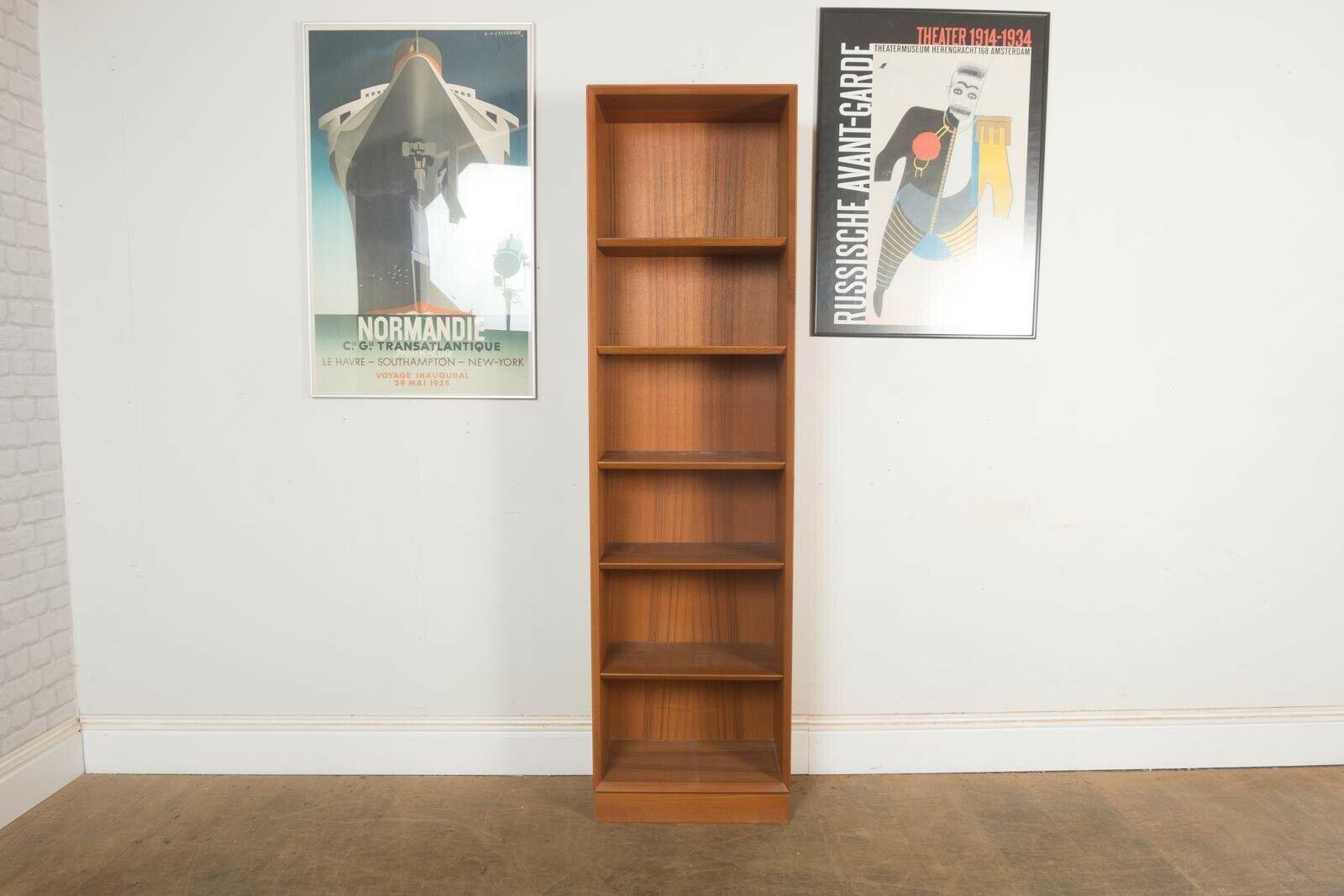 Vintage Retro Danish Teak Mid Century Bookcase