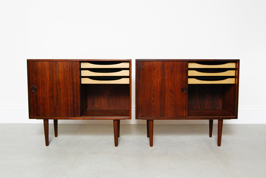 Kai Kristiansen Rosewood Cabinets