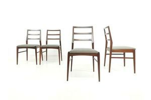 Thumb richard hornby for fyne ladye teak afromosia dining chairs vintage mid century 0