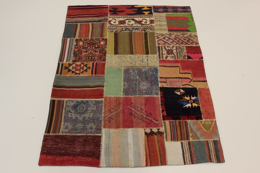 Antique Look Persian Rug Oriental