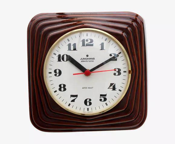 Vintage Junghans Ceramic Wall Clock