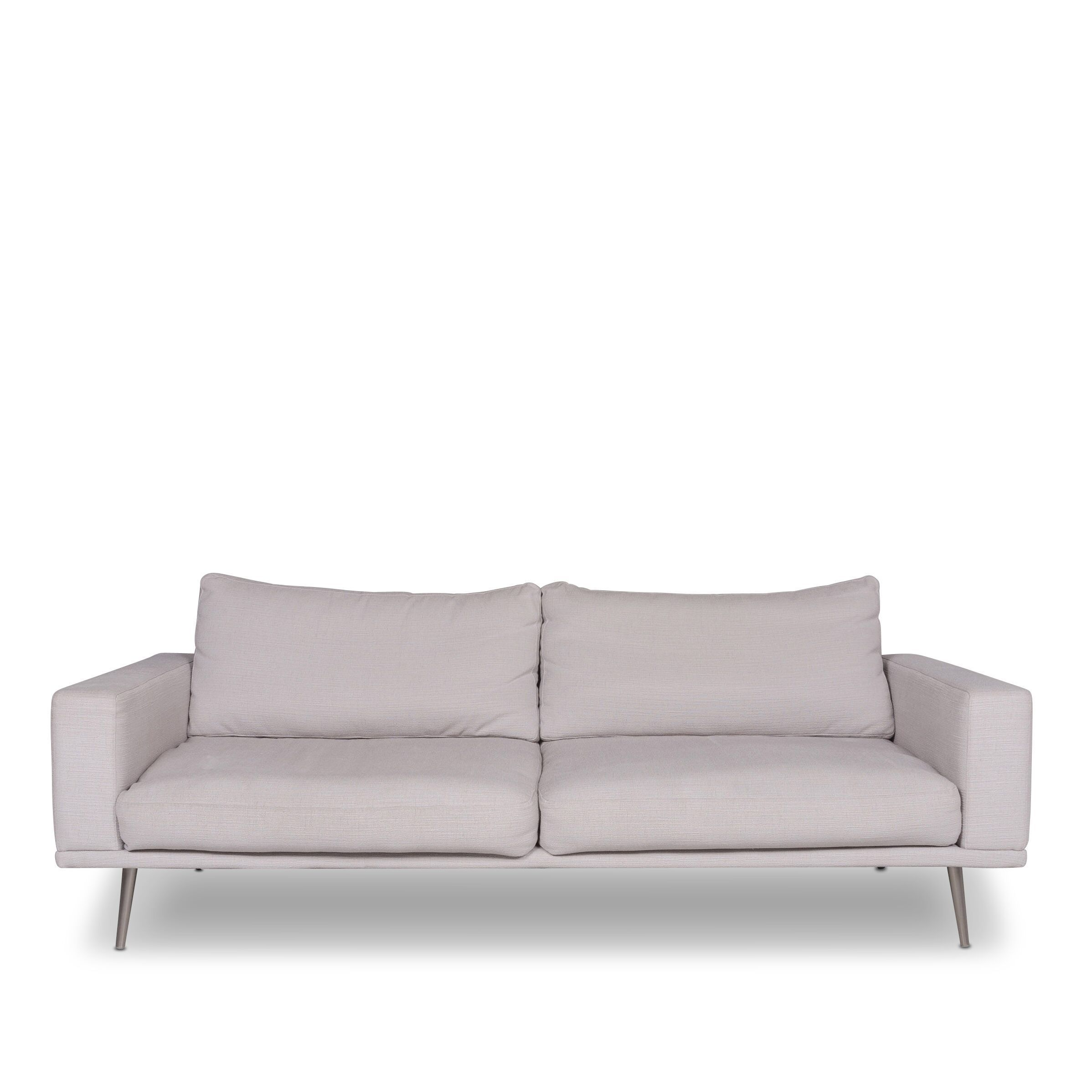 Incredible Bo Concept Carlton Designer Fabric Couch Three Seater Gray 9913 Unemploymentrelief Wooden Chair Designs For Living Room Unemploymentrelieforg