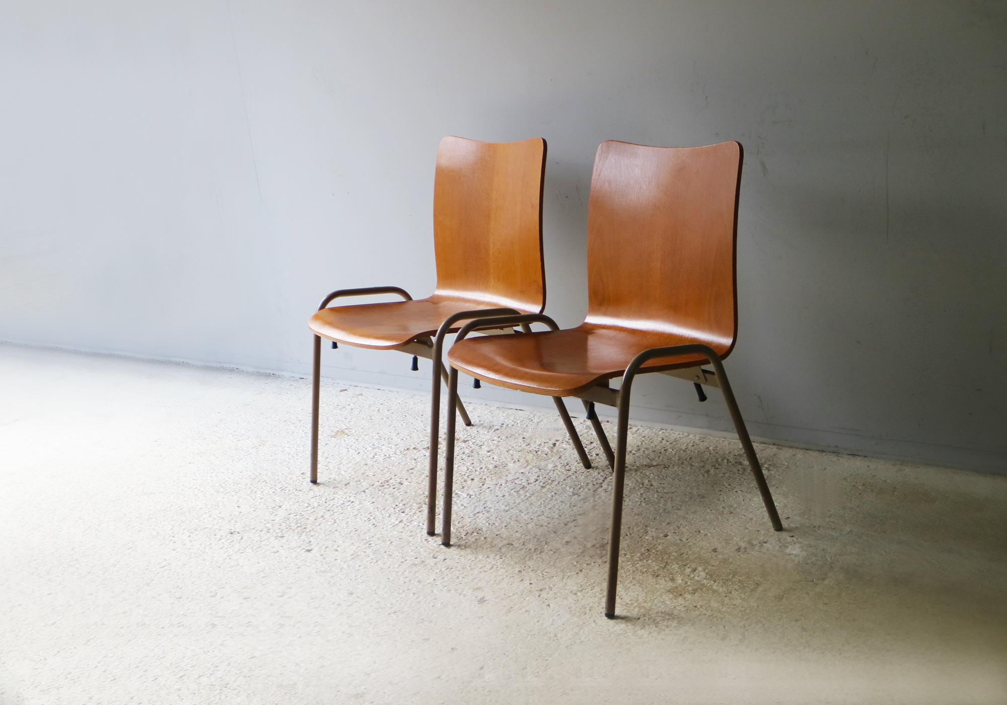Danish 1960 S Mid Century Stacking Chairs 50 Available