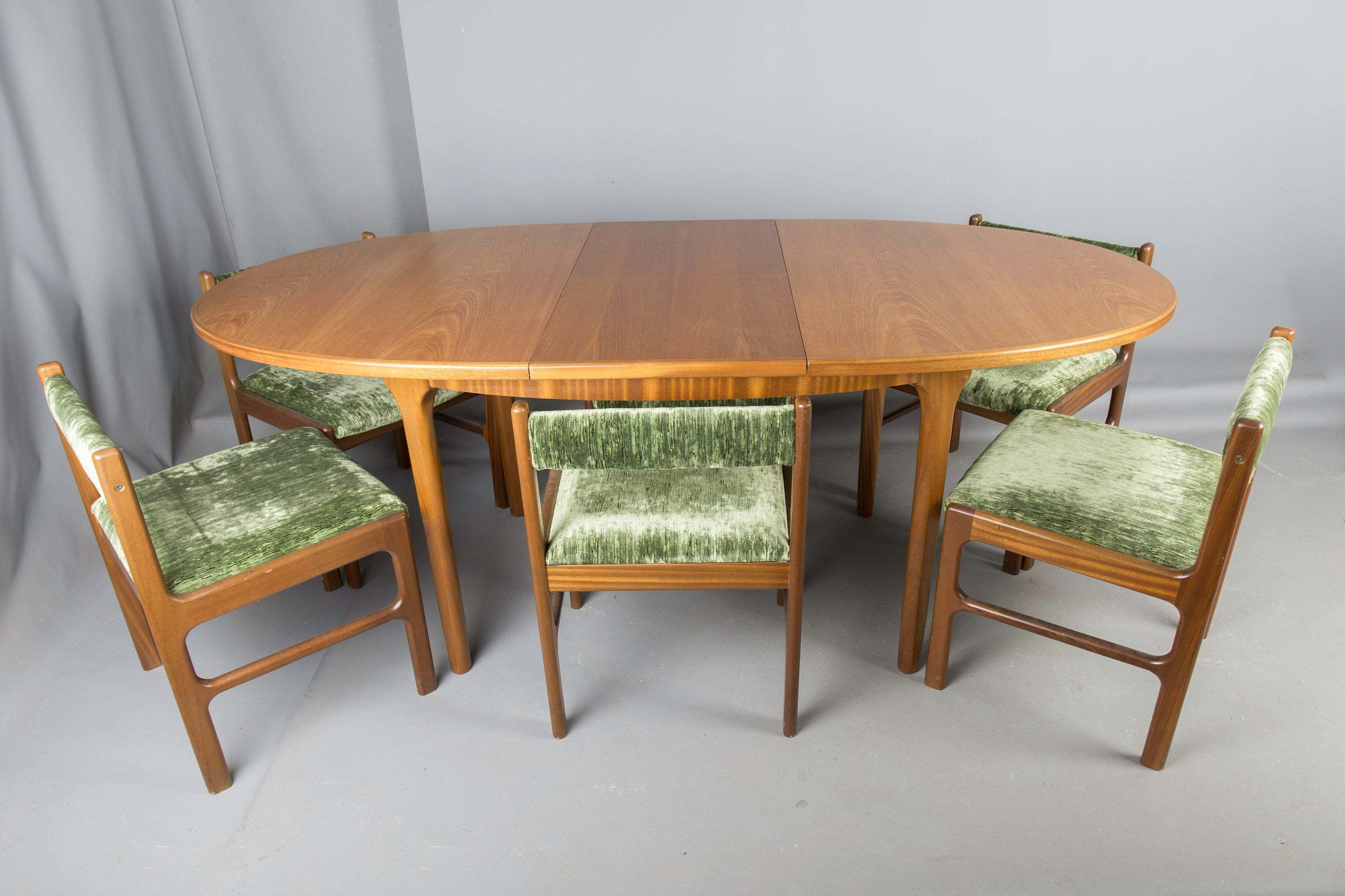 Prime Teak Retro Dining Table 4 Chairs By Mc Intosh Vintage 1960S Download Free Architecture Designs Viewormadebymaigaardcom