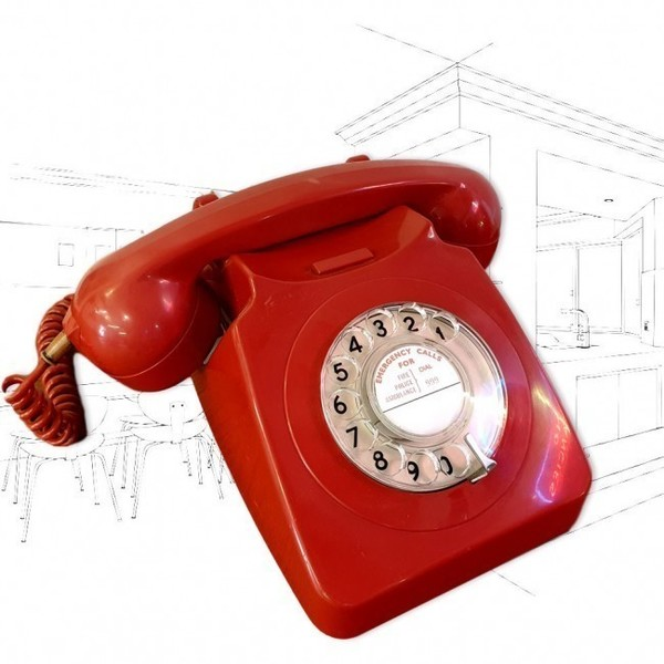 Gpo 746 Red Telephone