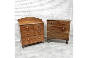 Thumb 2 antique chests of drawers 0