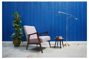 Thumb mid century modern easy chair in purple from 1960 s 1960 0