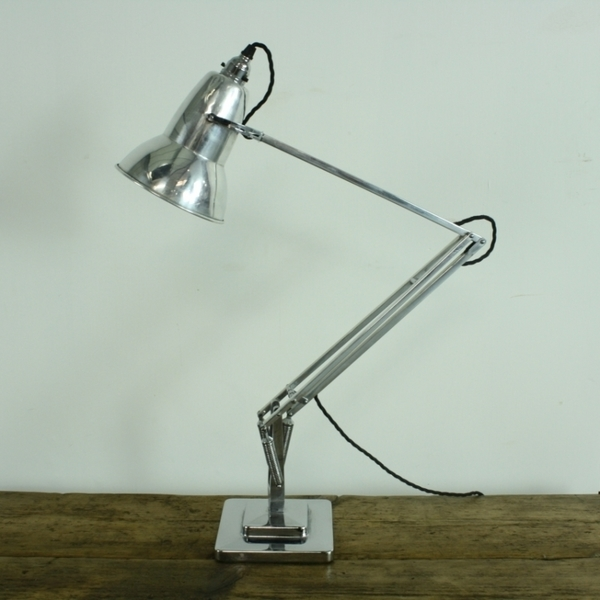 Stripped And Polished Herbert Terry Anglepoise Lamp | George Carwardine | Herbert Terry & Sons | Vinterior