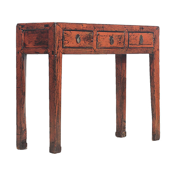 Vintage Chinese Painted Console Table